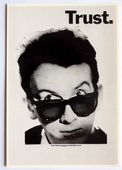 Elvis Costello - 'Trust' Postcard